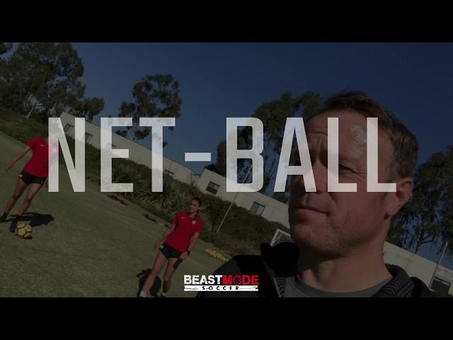 Soccer Net Ball USWNT Players Alex Morgan vs Christen Press vs David Copeland Smith