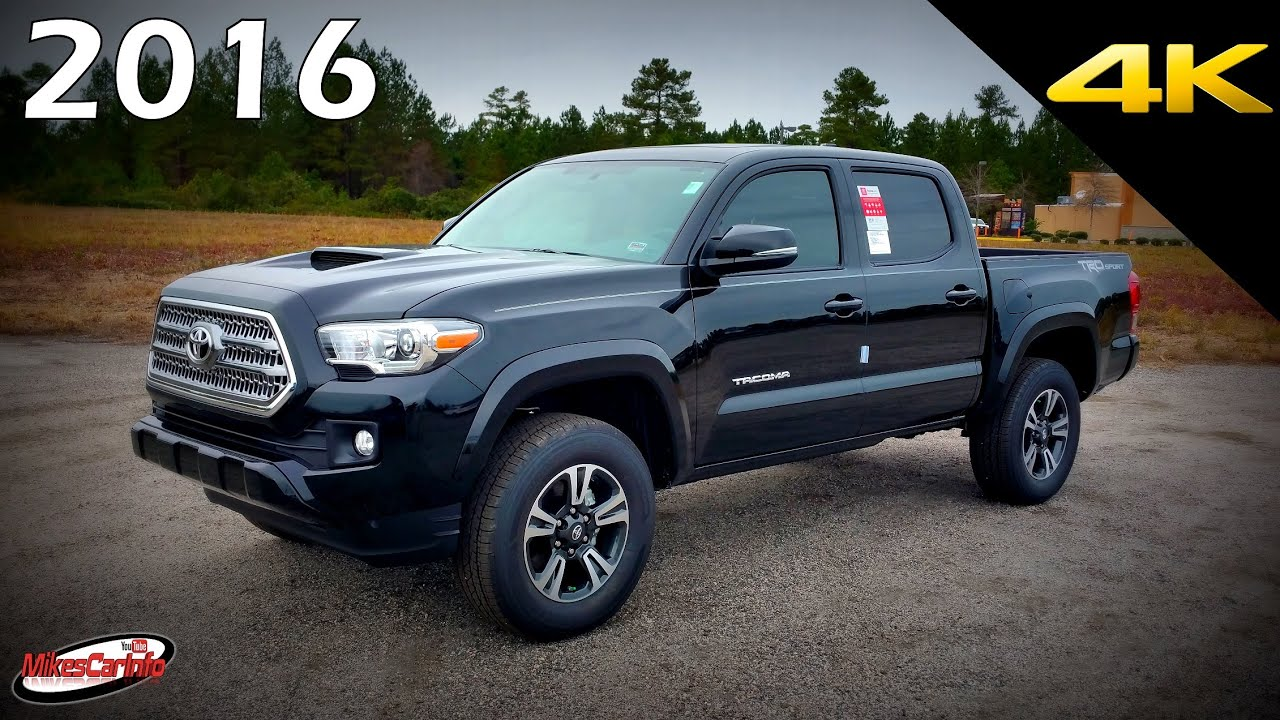 2016 Toyota Tacoma Trd Sport Ultimate In Depth Look 4k