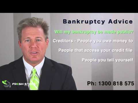Bankruptcy In Australia   Will My Bankruptcy Be Made Public