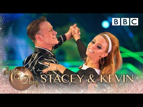 Stacey Dooley and Kevin Clifton Foxtrot to 'Hi Ho Silver Lining' by Jeff Beck - BBC Strictly 2018
