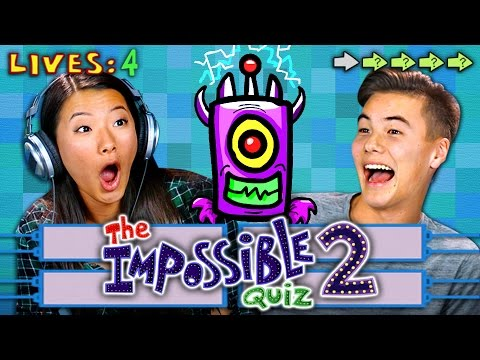 THE IMPOSSIBLE QUIZ 2 (REACT: Gaming)