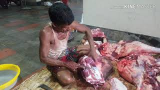 How to remove cow's legs big bone very quickly n safely