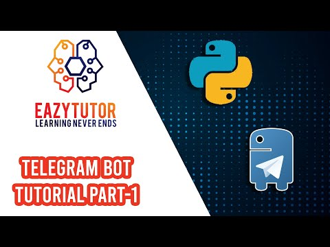#python #telegram #bot Telegram Bot With Python Tutorial Part 1