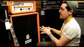 Orange - 8x10 Bass Cabinet Demo At Gak Featuring The Ad200b Bass Head