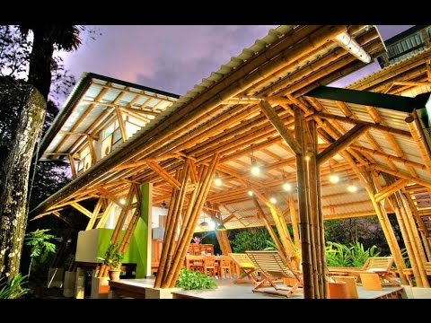 Bamboo house ideas