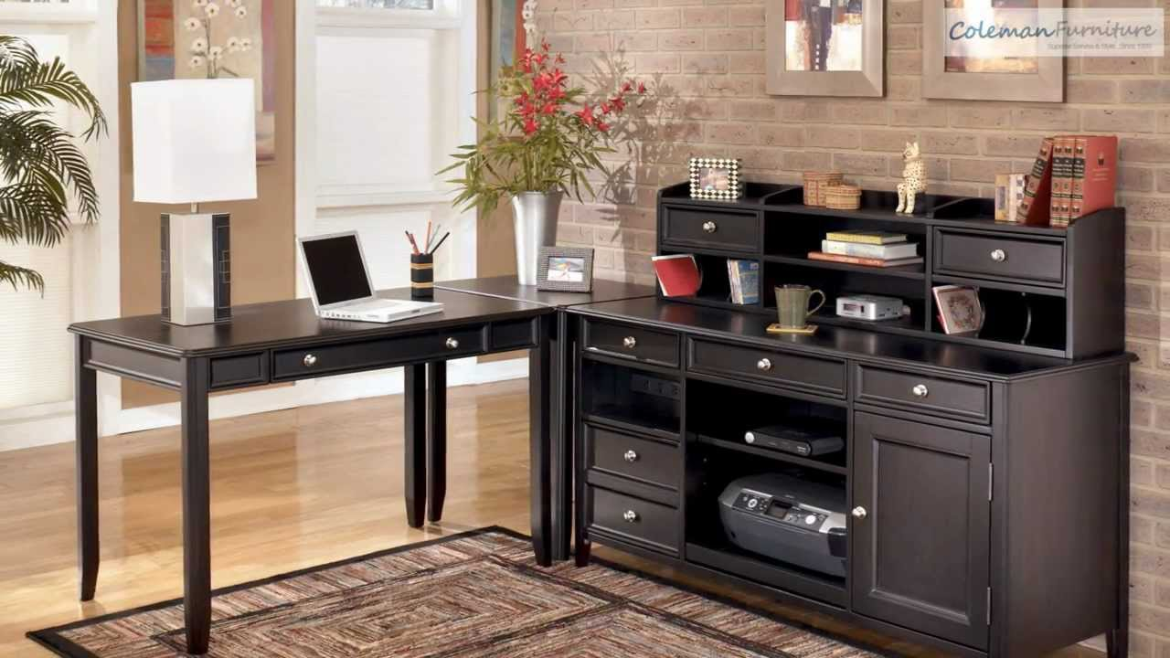 Carlyle Home Office Collection From Signature Design By