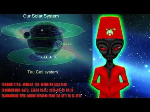 Moors On Mars, From Tau Ceti to Ta-Seti