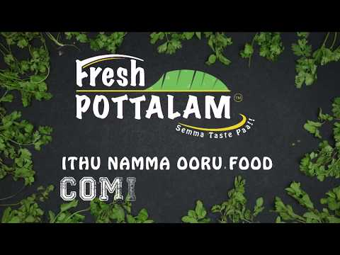 Fresh Pottalam Food Channel | Coming Soon