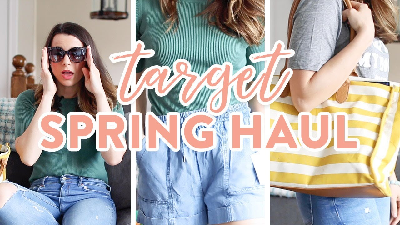Target Spring Try On Haul 2019 Home Decor Youtube