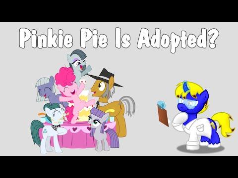Cutie Mark Laboratories - Pinkie Pie Is Adopted?