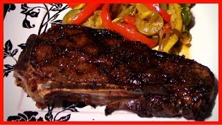 Cooking a Perfect New York Strip Steak at Home - VERY EASY