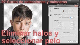 En este tutorial del Curso de Photoshop de selecciones y máscaras p...