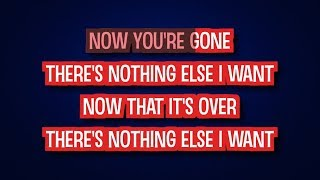 Water and a Flame - Celine Dion - Karaoke Version