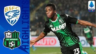 Brescia 0-2 Sassuolo | Traorè and Caputo Both On Target | Serie A TIM