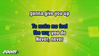 Barry White - Never Never Gonna Give You Up - Karaoke Version from Zoom Karaoke