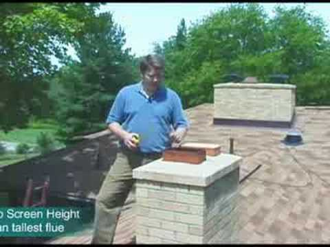 Measure For A Multi Flue Chimney Cap Youtube