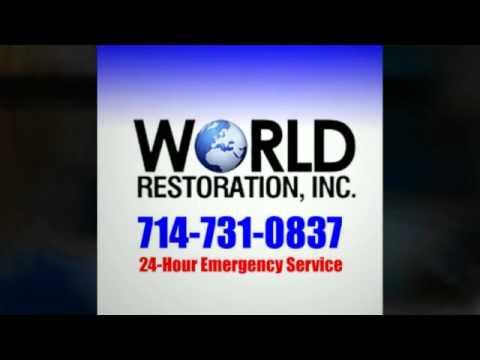 Water Damage Restoration in OC, 714-731-0837. World Restoration Inc