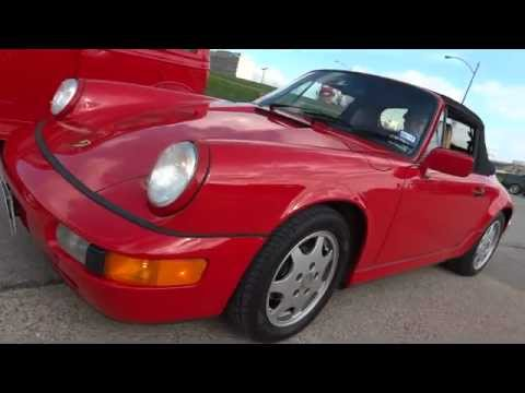 1991 Porsche 911 Carrera II in action