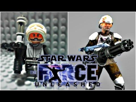 LEGO Star Wars The Force Unleashed - Rahm Kota's Militia Trooper Minifigure Review