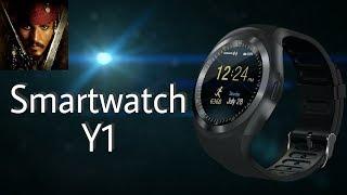 полноценные смарт часы Y1. Видео обзор. Крутые и дешёвые smart watch