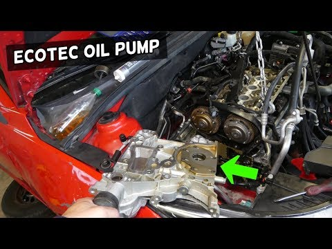 OIL PUMP LOCATION REPLACEMENT OPEL VAUXHALL ECOTEC 1.8 1.6 OPEL GM VECTRA ZAFIRA ASTRA INSIGNIA