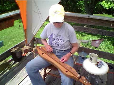 fat felt pick demonstration on mountain dulcimer
