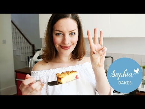 My SUPER QUICK Thermomix 3 Ingredient Cheesecake | Sophia's Kitchen
