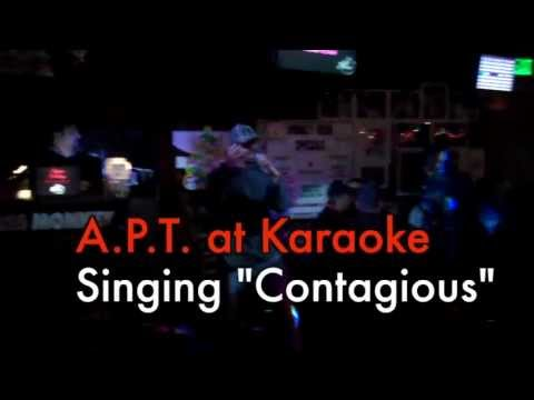 """A.P.T. Sings """"Contagious"""" Karaoke-Style"""