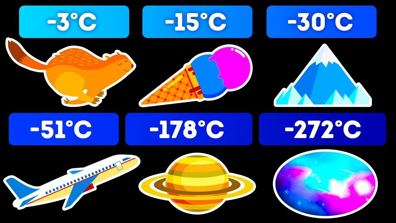 Сравнение самых холодных объектов