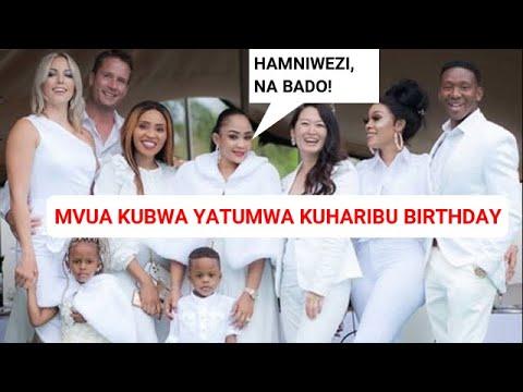 """KIMENUKA! Familia Ya Diamond Yatuma Mvua Kwenye Birthday Ya Nillan""""  ZARI Ameongea Haya , Amesema.."""