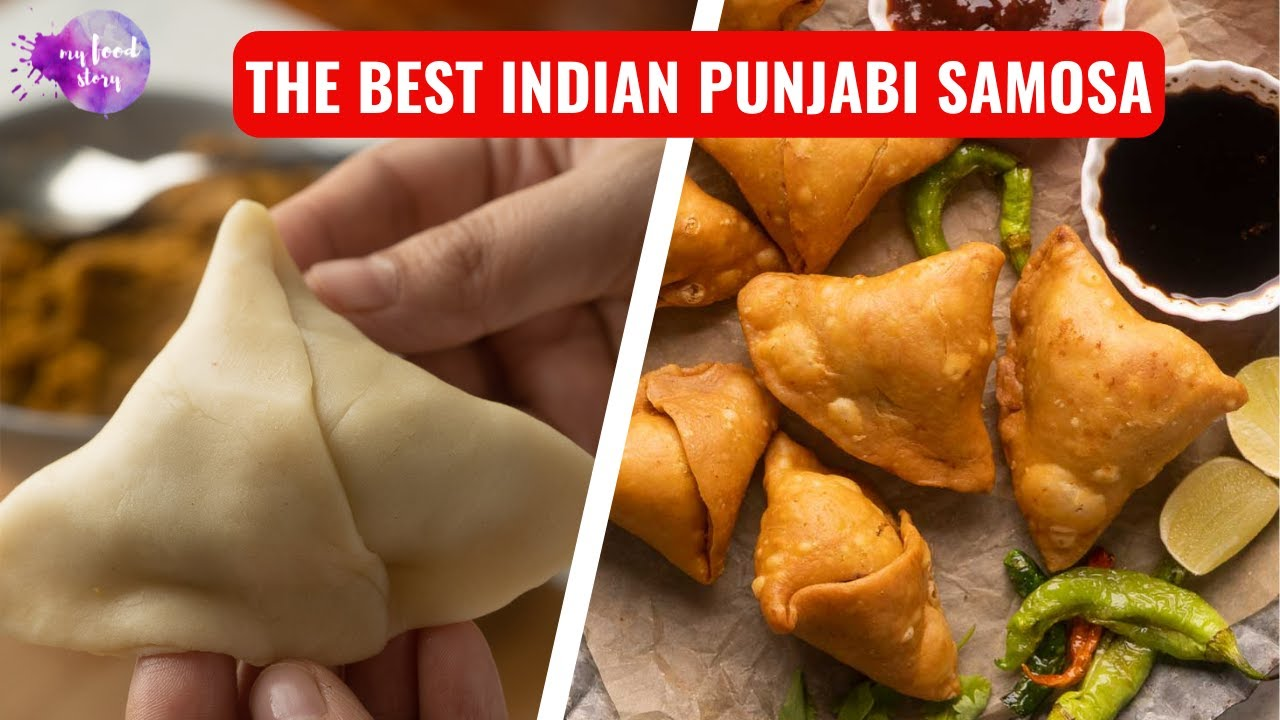 The Best Indian Punjabi Samosa Recipe (With Aloo, Vegetarian, Vegan)
