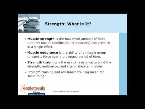 Wellness Education Session | Strength Training