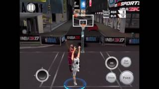 Akashi Seijuro VS Kyrie Irving | BLACKTOP - NBA 2K17 Mobile