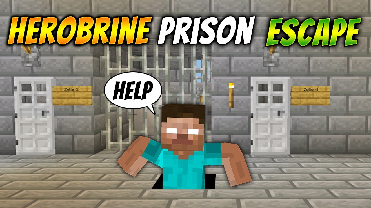 HEROBRINE ESCAPING THE PRISON