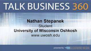 TALK BUSINESS 360 Interview with University of Wisconsin Oshkosh