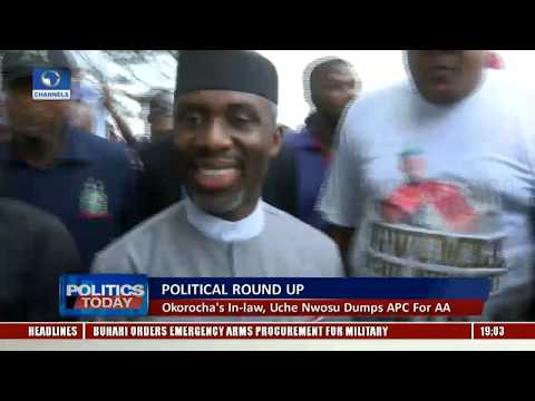 Political Round Up: Okorocha's In Law, Uche Nwosu Dumps APC For AA |Politics Today|