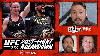 Open Mat: UFC 255 Post-Fight Breakdown | Figueiredo V Perez, Shevchenko V Maia