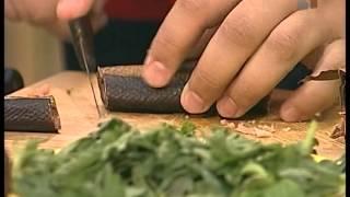 Нанайская кухня 2(Полыниевый суп, салат из крапивы и вяленая кета., 2015-04-18T12:19:00.000Z)