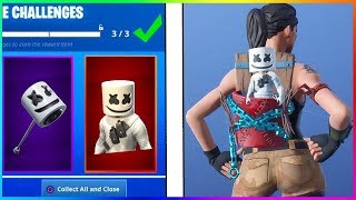 How to Get Marshmello Skin for FREE in Fortnite?! + *NEW* Fortnite Marshmello Pet!
