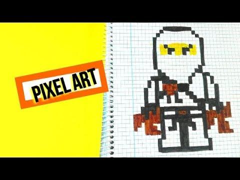 Como Dibujar Un Ninja Pixel Art