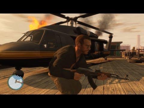 GTA 4 - Final Mission Gameplay | All Endings (1080p/60fps)