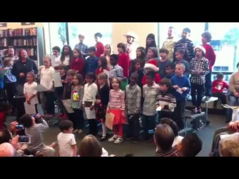 Garden Oaks Elementary Christmas Program 2015 Youtube