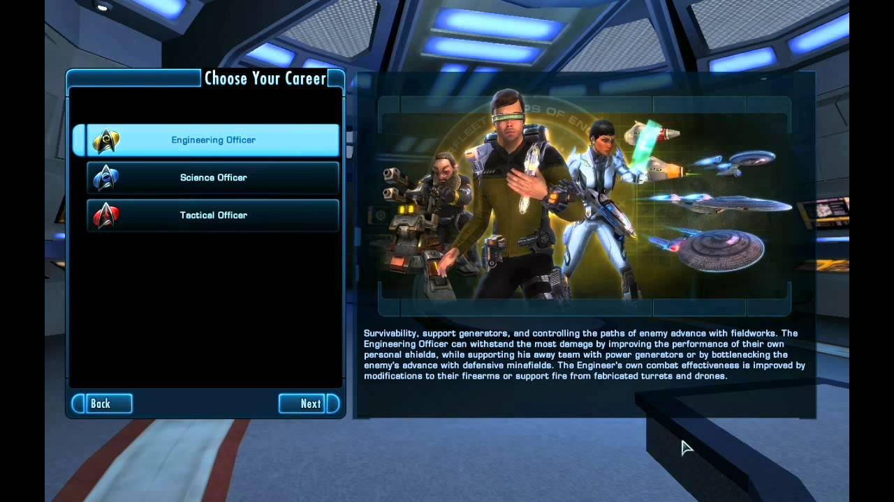Star Trek Online Career Paths