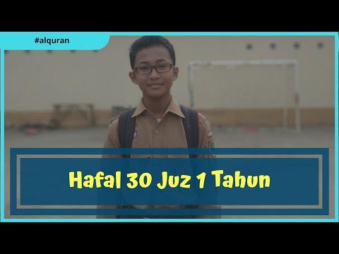 Detik-detik setoran terakhir Dzaky - Santri Griya Quran Baitul Muslim khatam 30 juz
