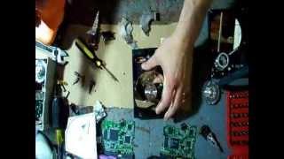Take apart a 250GB WD Hard Drive