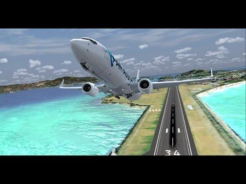 Flight Movie  Mayotte ✈ La Réunion 737 Air Austral - UU276