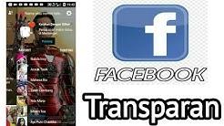 facebook Transparan apk download