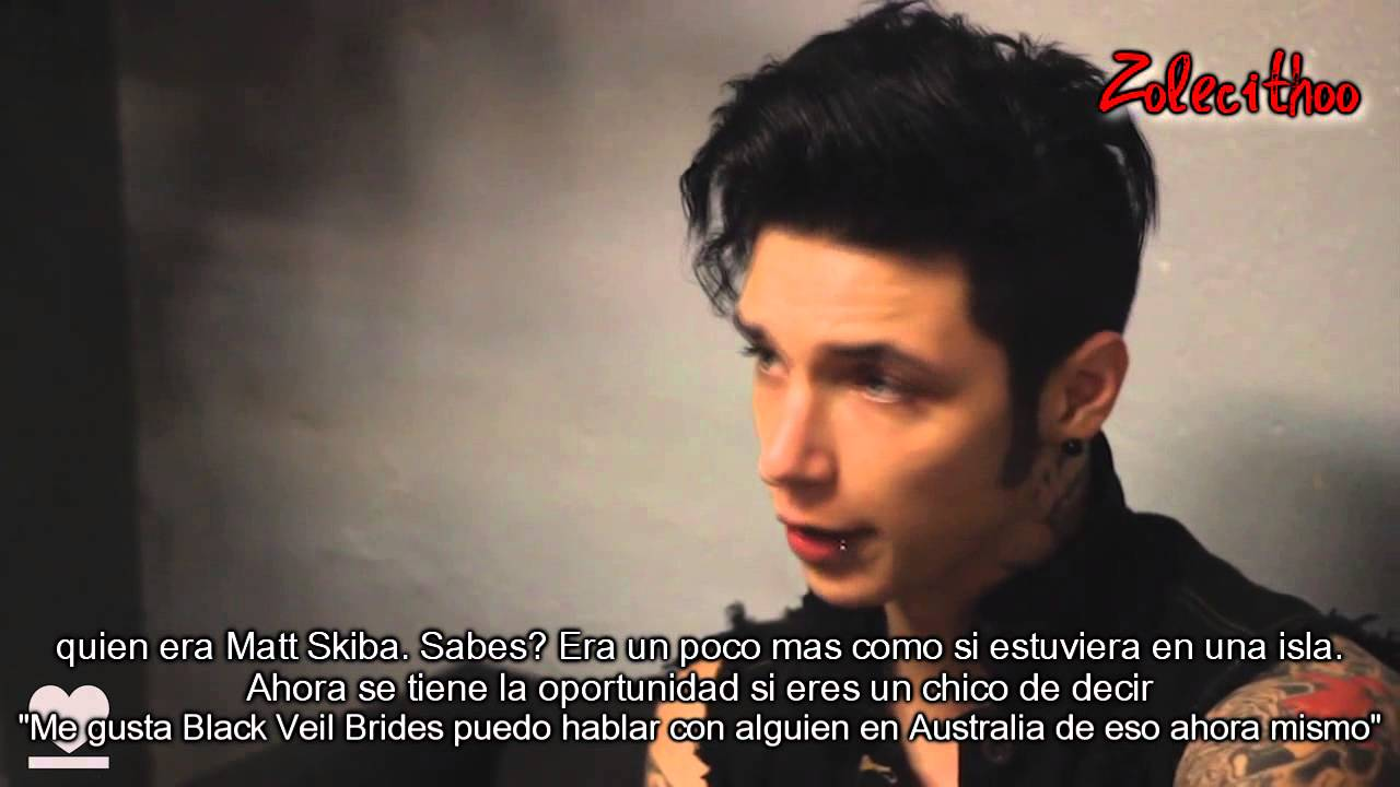Andy Biersack de Black...