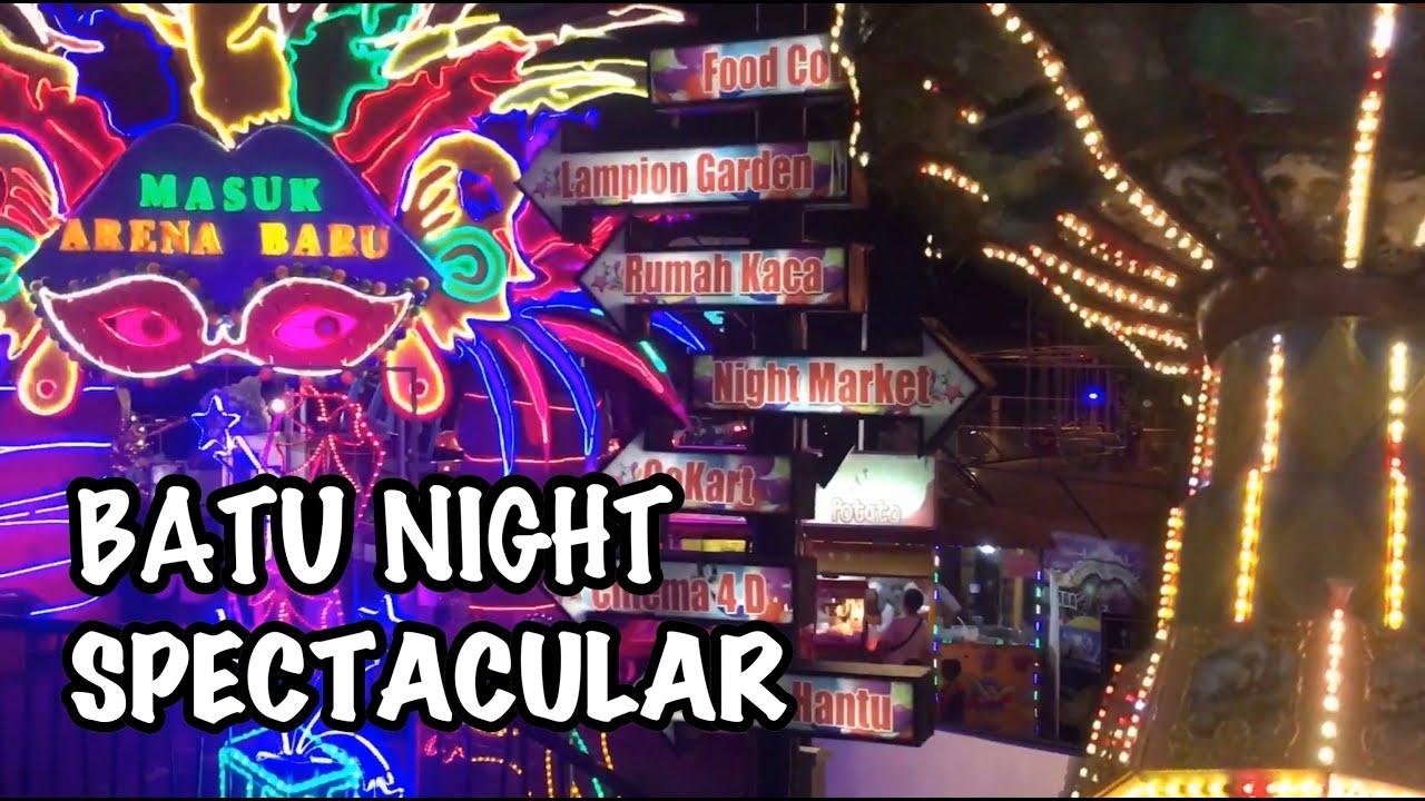 Wisata Malam Malang Batu Night Spectacular Part I Youtube