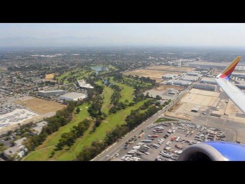 Southwest Flight WN 3307 (LGB-OAK) Takeoff from Long Beach (N741SA)